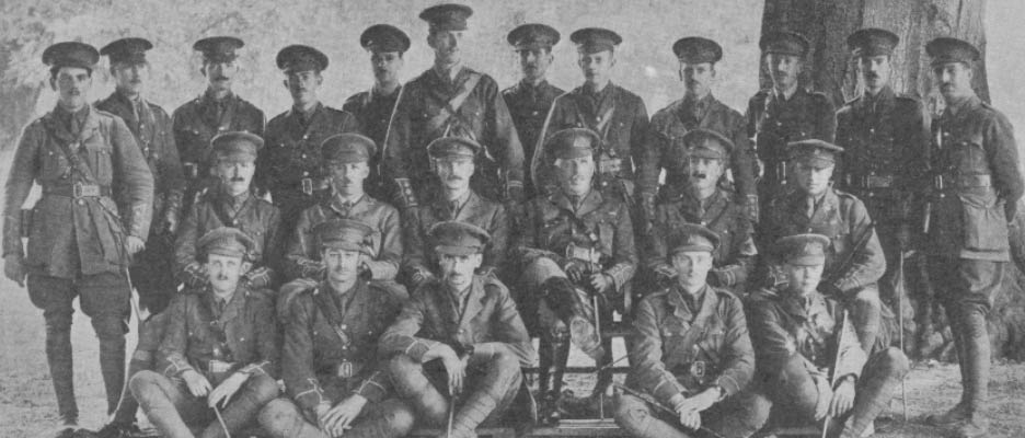 The Disappearance Of The 5th Norfolk Regiment At Gallipoli