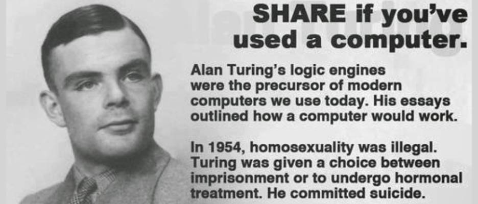 Image result for Alan Turing facts