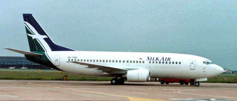 SilkAir Flight 185, December 19, 1997 (104 fatalities)