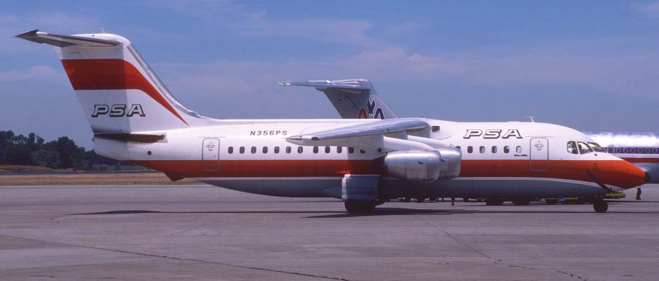 Pacific Southwest Airways (PSA) Flight 1771, December 7, 1987 (43 Fatalities)